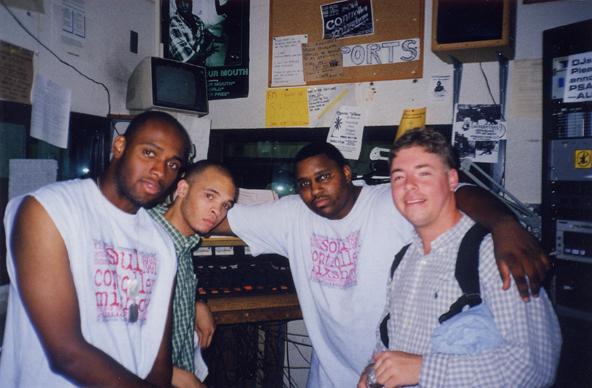 Soul Controllers in WMUC studio
