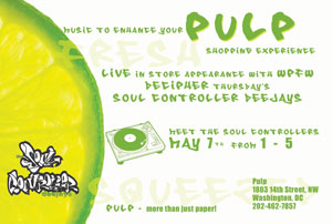 Pulp in-store w/The Soul Controllers, Sat 5/7/05